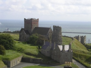 Here's a pretty picture of Dover Castle to make up for the fact that this is a one-sentence post