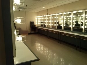 The ladies chorus dressing room