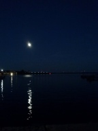 Moon over water 10