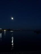 Moon over water 10