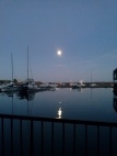 Moon over water 9