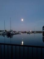 Moon over water 9