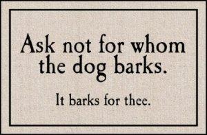 dog barkss