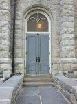 East side door.