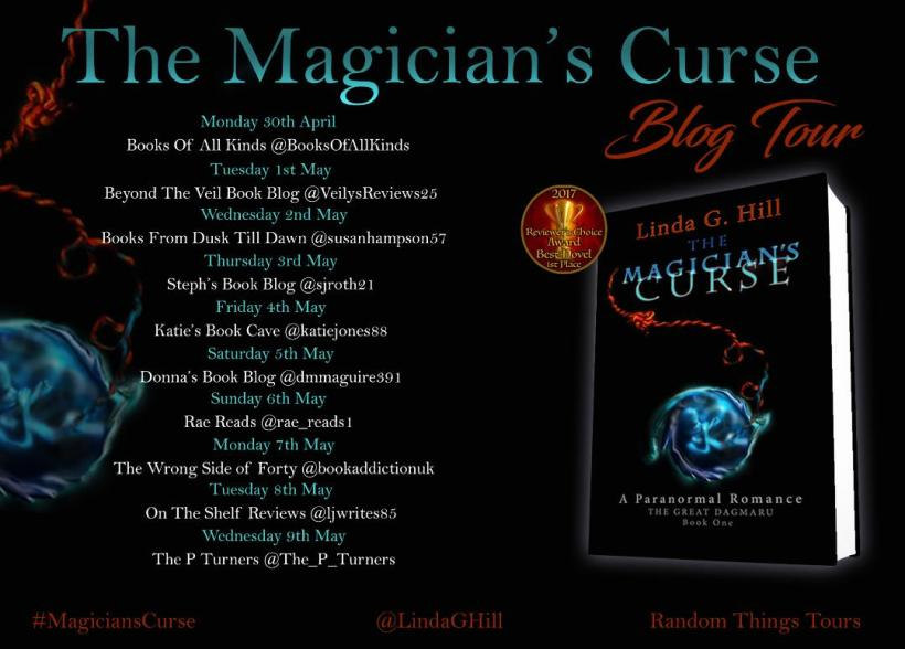 The Magician's Curse Blog Tour Banner